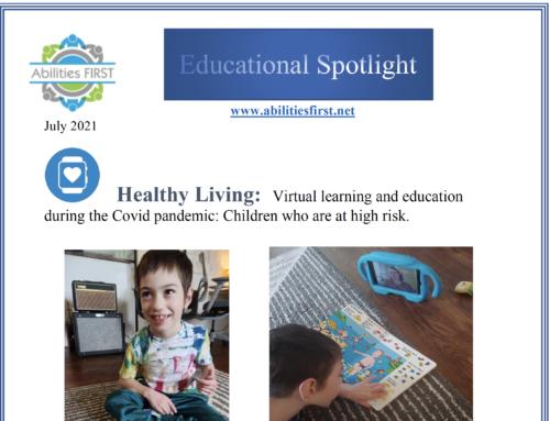 Educational Spotlight : Children who are higher risk